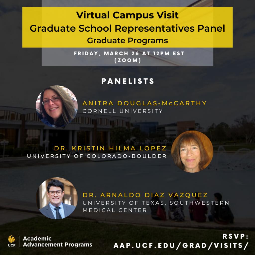 March 26th Grad Prep Panel